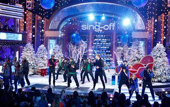 """The Sing-Off"" kicked off the Christmas season with a festive holiday special (Trae Patton/NBC)"