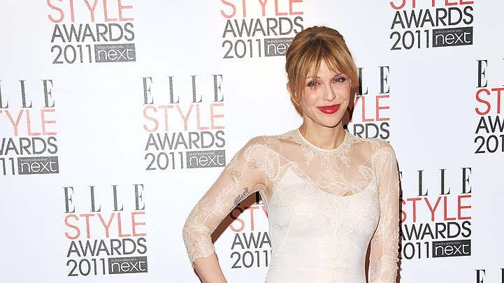 Courtney Love ELLE Style Awards