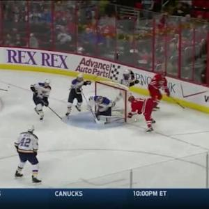 Jake Allen Save on Eric Staal (03:27/2nd)