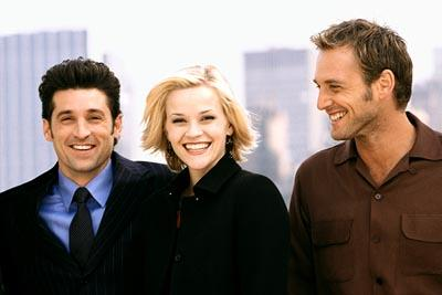 Patrick Dempsey , Reese Witherspoon and Josh Lucas in Touchstone's Sweet Home Alabama