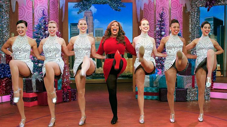 Wendy Williams Rockettes