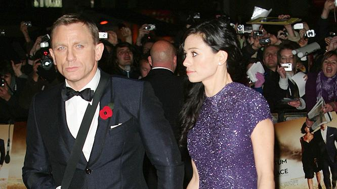 Quantum of Solace UK premiere 2008 Daniel Craig