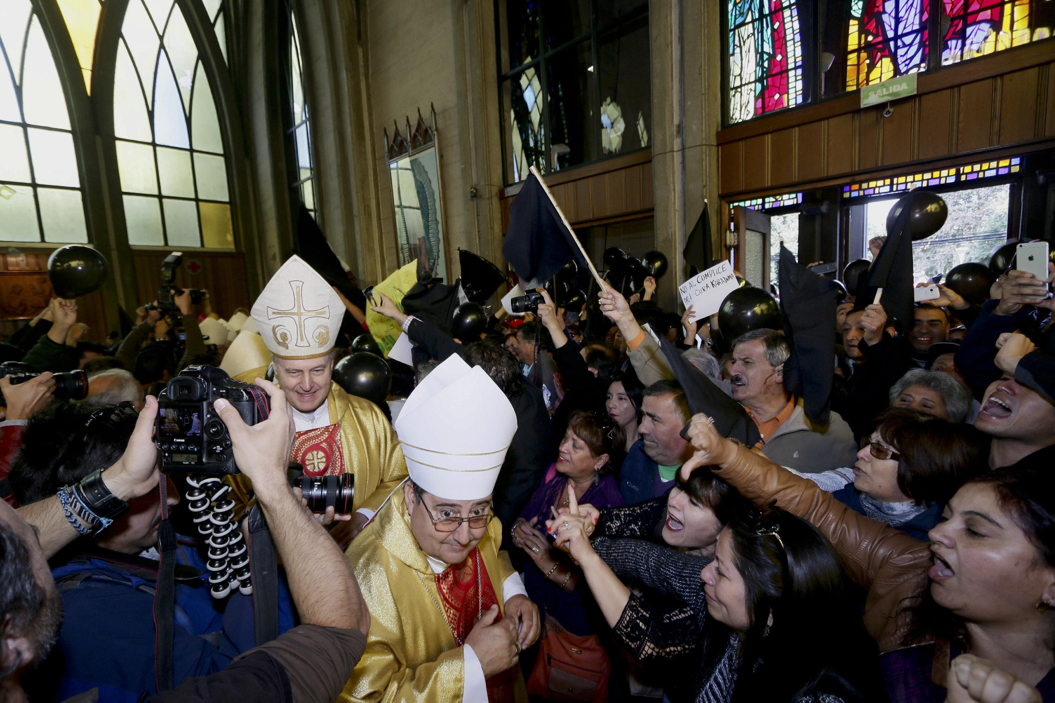 Much anger in southern Chile over bishop appointment