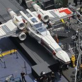 Lego Unveils Life-Sized 'Star Wars' X-Wing (Photo)
