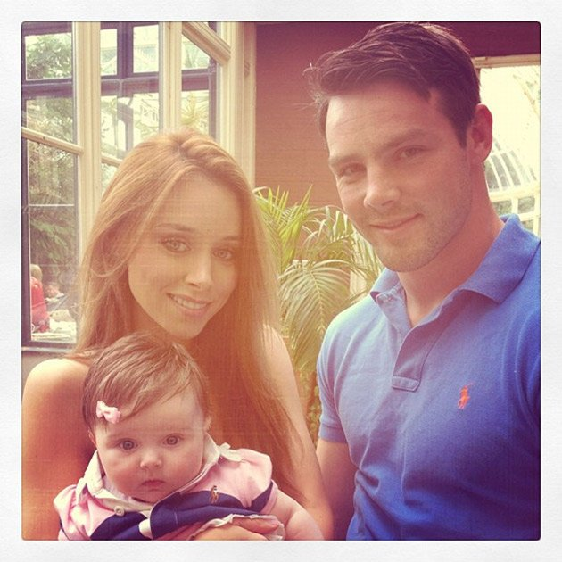 Una Healy photo of the Foden family