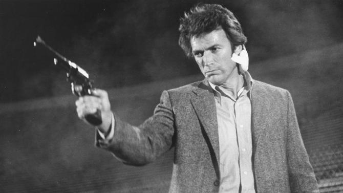 """This image released by Warner Bros. shows Clint Eastwood in a scene from the move """"Dirty Harry."""" Memorable movies, including """"Breakfast at Tiffany's,"""" """"Dirty Harry,"""" """"A League of Their Own"""" and """"The Matrix"""" are being preserved for their enduring significance in American culture as The Library of Congress announces, Wednesday, Dec. 19, 2012, the slate of films it will induct into the National Film Registry. (AP Photo/Warner Bros.) NO SALES"""