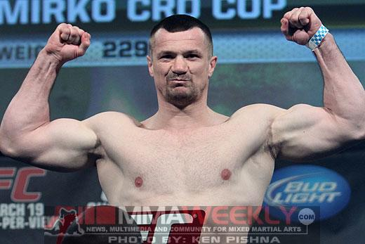 Cro Cop Isn't Done Fighting Just Yet