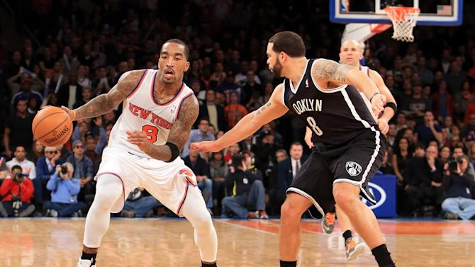 NBA: Brooklyn Nets at New York Knicks