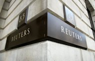 A Fleet Street building with the Reuters nameplate in London in 2002. Hackers took over the blogging platform of the Reuters news agency and posted &quot;fabricated&quot; stories said to include an interview with a Syrian rebel leader, the company said Friday