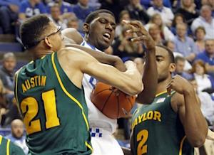 Baylor upsets No. 8 Kentucky, 64-55