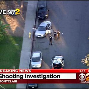 Police Investigating Shooting In Montclair