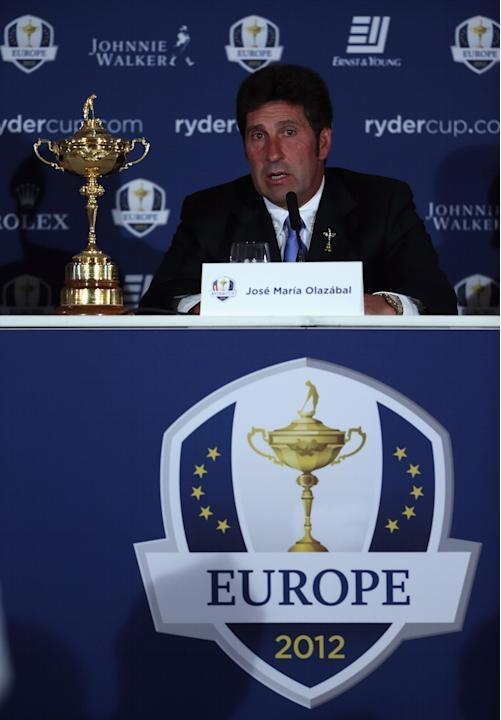 Europe Ryder Cup Wildcard Players Announced