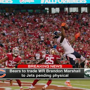 Kristian Dyer on wide receiver Brandon Marshall trade: Move gives New York Jets flexibility