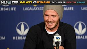 "Dynamo: Beckham is not ""what makes our world go round"""