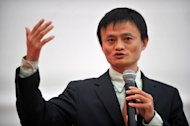 Alibaba.com founder Jack Ma is shown in Lima, in 2008. A diminutive former English teacher, Ma set up Alibaba in 1999, convincing friends to fund him with $60,000 and picking a recognisable name with the aim of helping small firms find treasure by selling through the Internet