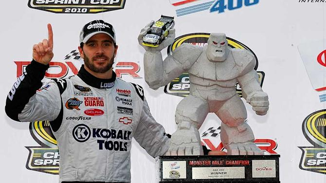 Johnson has seven Sprint Cup Series victories at Dover