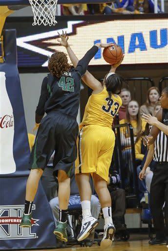 Griner, No. 1 Baylor women beat WVU 80-49