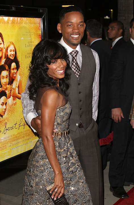 The Secret Life of Bees LA Premiere 2008 Jada Pinkett Smith Will Smith