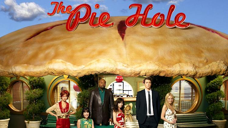 The cast of Pushing Daisies.