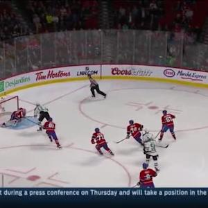 Carey Price Save on Jamie Benn (01:08/2nd)