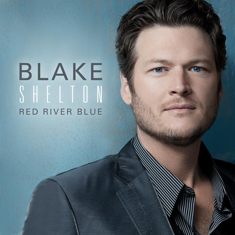 "In this CD cover image released by Warner Bros. Records, the latest release by Blake Shelton,  ""Red River Blue,"" is shown. (AP Photo/Warner Bros. Records)"