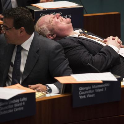 Rob Ford, 2013's top newsmaker