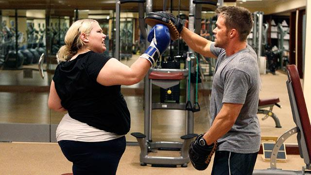 Chris Powell of 'Extreme Makeover: Weight Loss Edition'  Provides Therapy Through Exercise