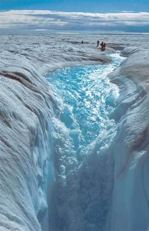 Greenland Ice Sheet Continues to Thin
