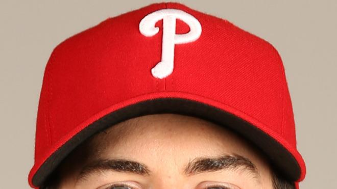 Cole Hamels Baseball Headshot Photo