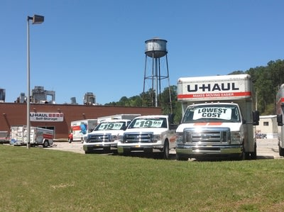 Formerly the Historic Burlington Mills Plant, U-Haul Expands Operations to Wake Forest, N.C.