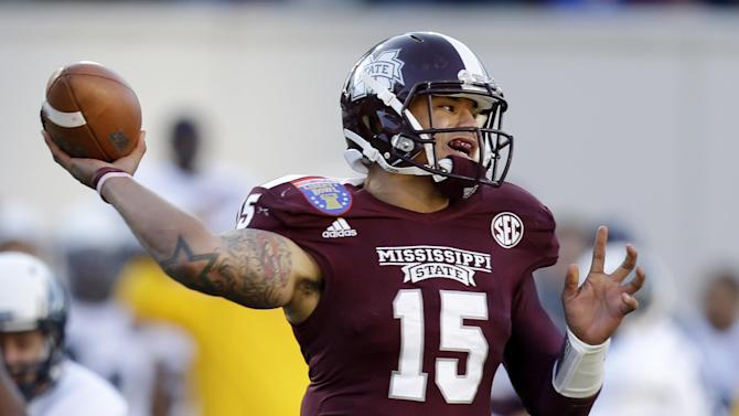Mississippi State rips Rice 44-7 in Liberty Bowl