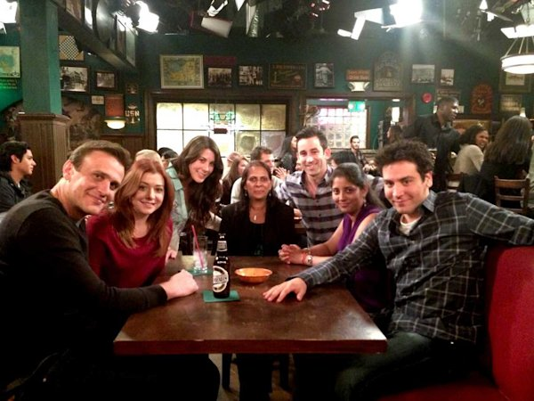 How I Met Your Mother set visit