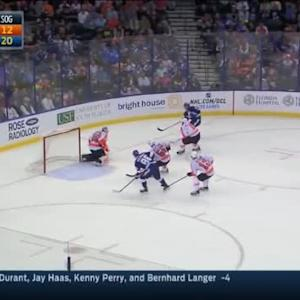 Ray Emery Save on Tyler Johnson (16:27/2nd)