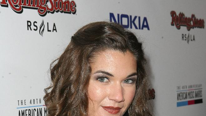 Keri Reeves arrives at the Rolling Stone American Music Awards After Party, on Sunday, Nov. 18, 2012 in Los Angeles. (Photo by Casey Rodgers/Invision for Nokia/AP Images) **Please include any additional event details in the second sentence of the caption.