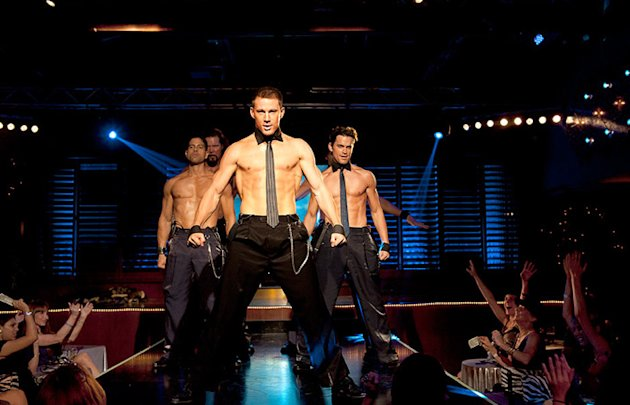 """Magic"" Mike Martingano (Channing Tatum) – ""Magic Mike"" – Director Steven Soderbergh's latest is partially based on Tatum's real-life experiences working as a male stripper in Tampa, Florida. ""Magic M"