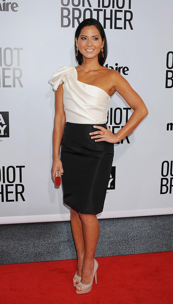 Our Idiot brother LA premiere 2011 Olivia Munn