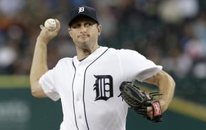 Scherzer wins 20th, Tigers rout White Sox 12-5