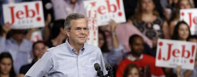 Jeb Bush answers questions on Telemundo