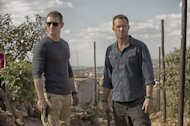Philip Winchester as Sgt. Michael Stonebridge and Sullivan Stapleton as Damien Scott in Cinemax's 'Strike Back' -- David Bloomer/Cinemax