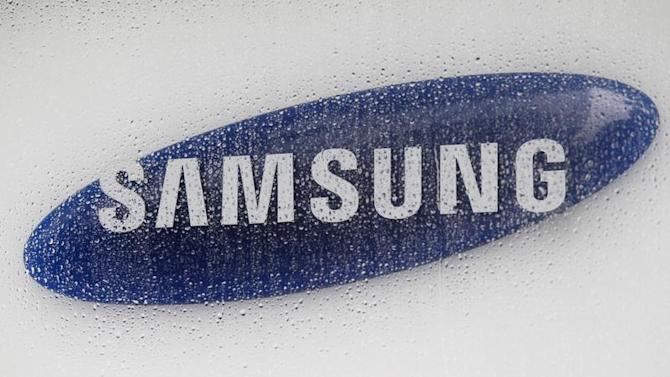 The logo of Samsung Electronics is seen at the company's headquarters in Seoul
