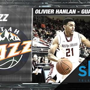 Jazz Select Boston College's Olivier Hanlan | NBA Draft Hype Video