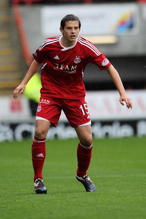 Peter Pawlett has made 63 appearances for Aberdeen