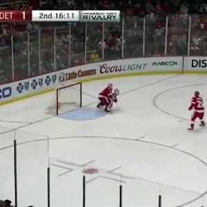 Jimmy Howard Save on Jesper Fast (03:50/2nd)