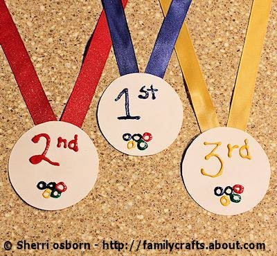 Kid Crafty Olympic Medals