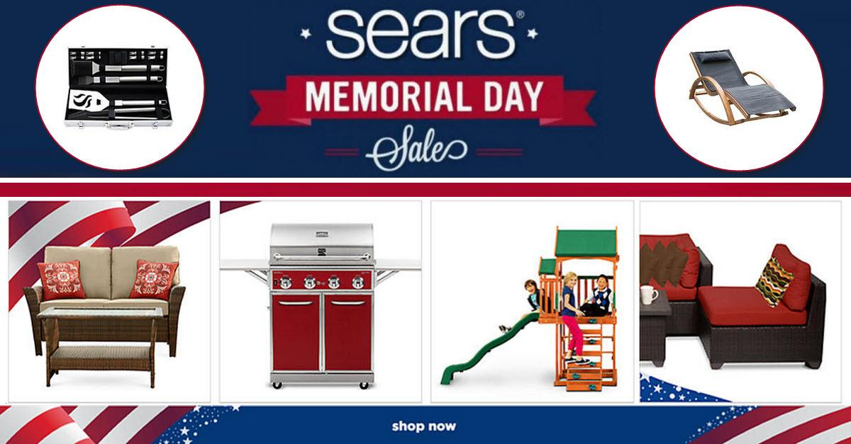 Sears® Memorial Day Patio Furniture Sale!