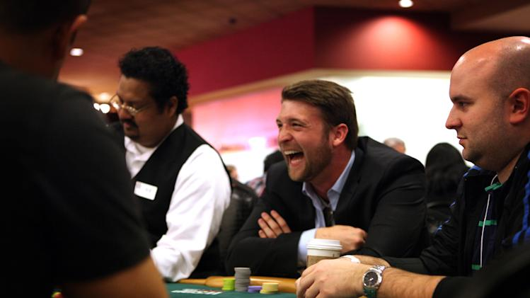 MBAs play poker in Vegas to win job at Caesars