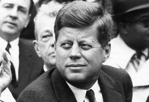 John F. Kennedy | Photo Credits: Robert Riger/Getty Images