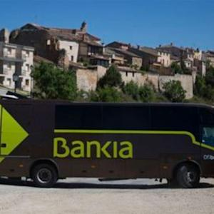 In Spain, Your Bank Is Likely a Bus