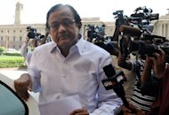 India's Finance Minister, P. Chidambaram, pictured in New Delhi, on April 5, 2010. India's unruly parliament will begin its key budget session Thursday with the government appealing to opposition lawmakers to allow it to push forward an economic reform drive
