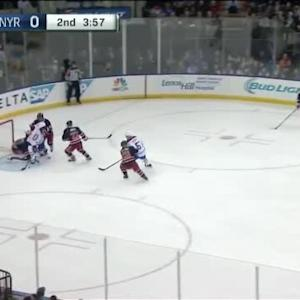 Henrik Lundqvist Save on Dale Weise (16:05/2nd)